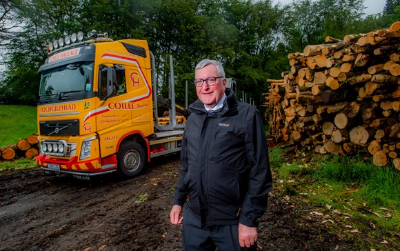 Scottish Government fund alleviates pressures from timber lorries