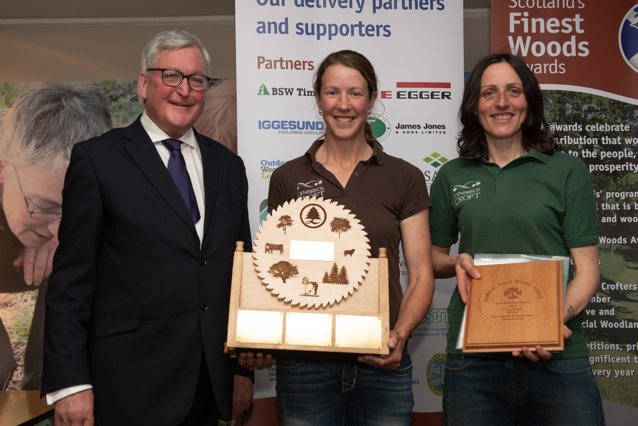 Woodland Carbon Code is win-win-win for award winning crofters