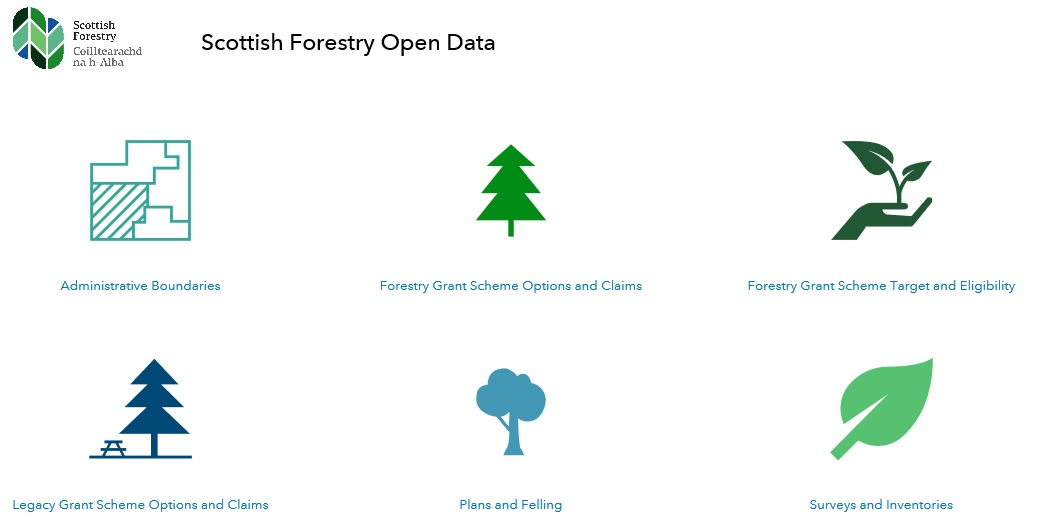 New Scottish Forestry spatial data hub
