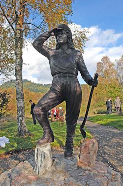 lumberjill memorial