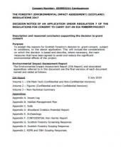 Cambusmore Decision Notice