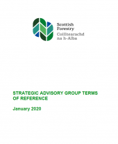 Strategic Advisory Group - Terms of Ref