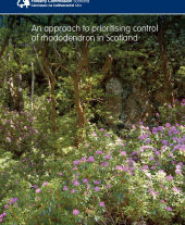 An Approach to Prioritising Control of Rhododendron in Scotland