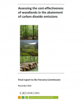 Assessing the Cost-effectiveness of Woodlands in the Abatement of Carbon Dioxide Emissions