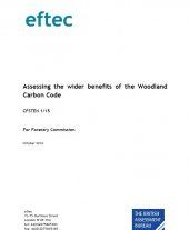 Assessing the Wider Benefits of the Woodland Carbon Code