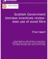 Scottish Government Biomass Incentives Review: Best Use of Wood Fibre Report