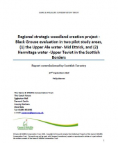 Black Grouse Evaluation Report - Scottish Borders Pilot Areas 1 & 2