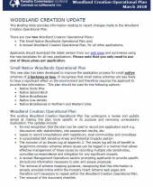 Briefing Note 15: Woodland Creation Operational Plan