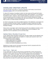 Briefing Note 9: Woodland Creation Update