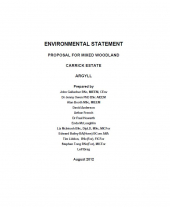 Carrick Estate Environmental Statement