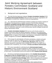 Joint Working Agreement with Historic Environment Scotland