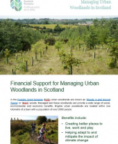 Financial Support for Managing Urban Woodlands in Scotland
