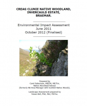Creag Clunie Environmental Impact Assessment Part 1