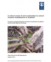 A Critical Review of Work Undertaken to Control Invasive Rhododendron in Scotland