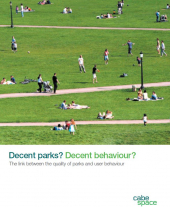 Decent Parks? Decent Behaviour?