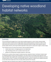 Developing Native Woodland Habitat Networks