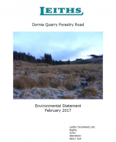 Dornie Quarry Road Environmental Statement