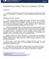 Dothistroma Action Plan for Scotland 2018