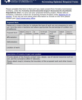Environmental Impact Assessment Screening Opinion Request Form