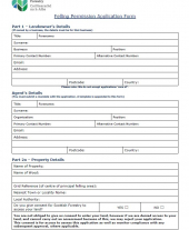 Felling Permission Application Form (PDF)