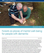 Forests as Places of Mental Well-being for People with Dementia