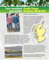 Farm Woodland Case Studies: Foulis Farms