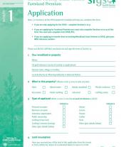 FP1: Applicant's Details Form