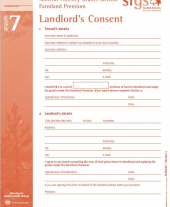 FP7: For Tenants that Require Landlord's Consent Form