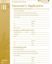 FP8: Successor's Application Form