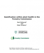 Gamification within Plant Health in the Forestry Commission