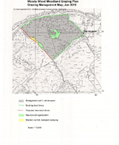 Woodland Grazing Map Example