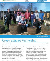 Green Exercise Partnership Briefing