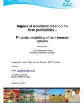Impact of Woodland Creation on Farm Profitability