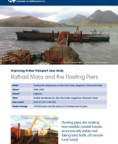 Improving Timber Transport Case Study: Rathad Mara and the Floating Piers