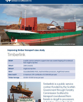 Improving Timber Transport Case Study: Timberlink