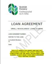 SWLS Sample Loan agreement