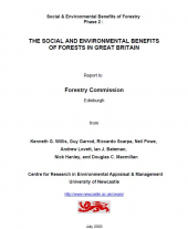 The Social and Environmental Benefits of Forests in Great Britain: Main Report