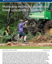 Managing Woodland Access and Forest Operations in Scotland