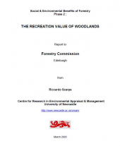 The Social and Environmental Benefits of Forests in Great Britain: Recreation Report