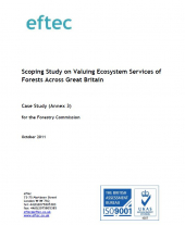 Scoping Study on Valuing Ecosystem Services of Forests Across Great Britain October 2011: Case Study (Annex 3)