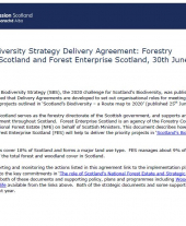 Scottish Biodiversity Strategy Delivery Agreement