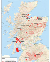 Map of Red Squirrel Stronghold Areas