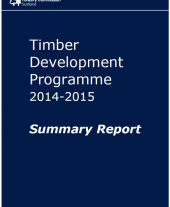 Timber Development Programme 2014-2015: Summary Report