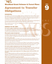 WGS 9: Agreement to Transfer Obligations Form