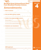 WGS-FWPS 4: Amendment Form