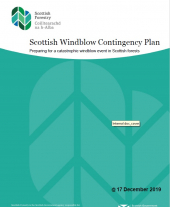 Scottish Windblow Contingency Plan: A Strategy for Dealing with Catastrophic Windblow Events in Scottish Forests