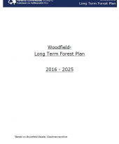 Woodfield Long Term Forest Plan