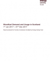 Woodfuel Demand and Usage in Scotland