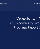 Woods for Nature: FCS Biodiversity Programme Progress Report 2010/11
